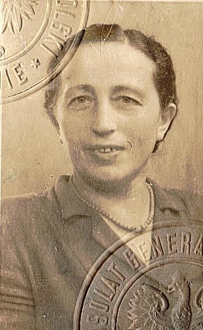 תמונת הדרכון ב 1947