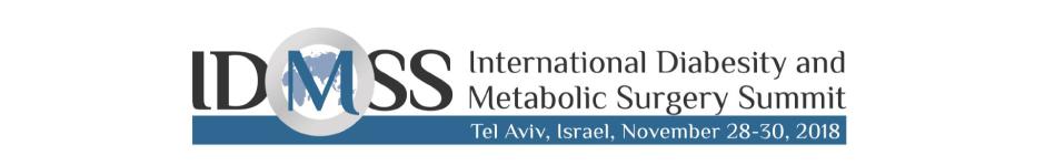 International Diabesity and Metabolic Surgery Summit 2018